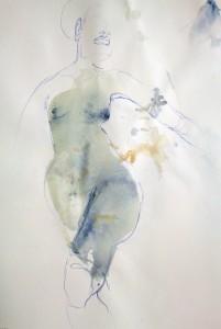 Kuli und Aquarell 2015 ca 21x29 cm Birgit Herzberg-Jochum
