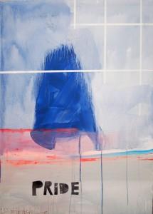 "Birgit Herzberg-Jochum, ""Pride"" 2013 70X100 cm"