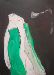 "Birgit Herzberg-Jochum, ""RELAX"" 2013 80X100cm"